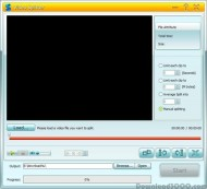 GiliSoft Video Splitter screenshot